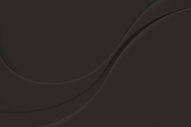Black abstract wavy background
