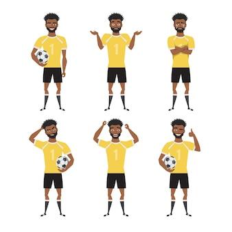 흑인 아프리카 계 미국인 축구 선수