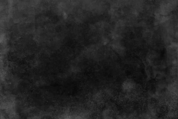 黒と濃い灰色の水彩テクスチャ、背景