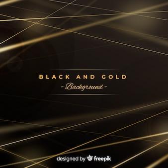 黒と金の背景
