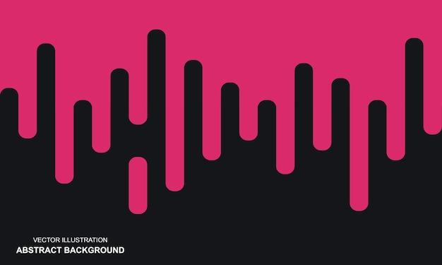 검은색과 분홍색 현대 추상적인 배경