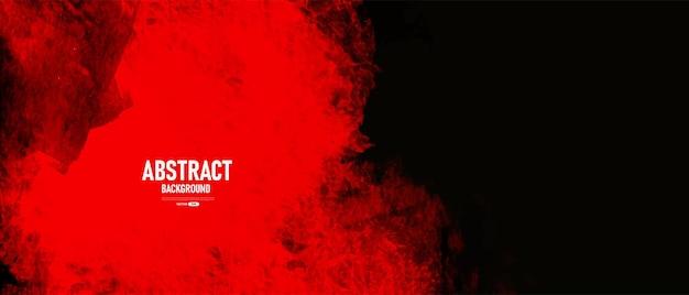 黒と赤の抽象的なグランジテクスチャ背景