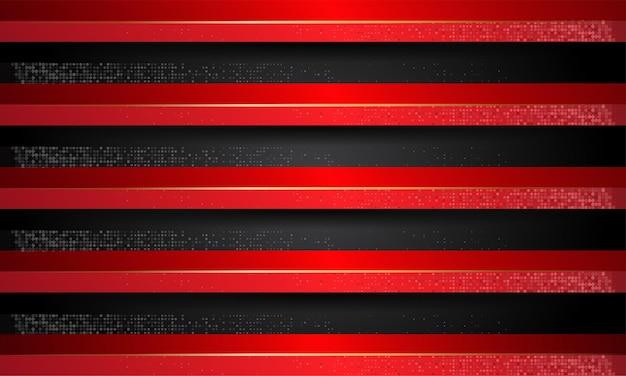 豪華に見える黒と赤の線の背景
