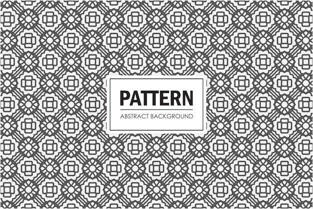 黒と白の抽象的なパターン