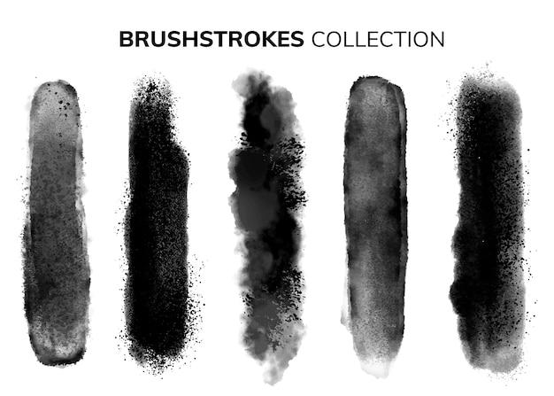 흑인과 백인 브러쉬 컬렉션
