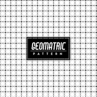 黒と白の地質学のシームレスなパターンの背景