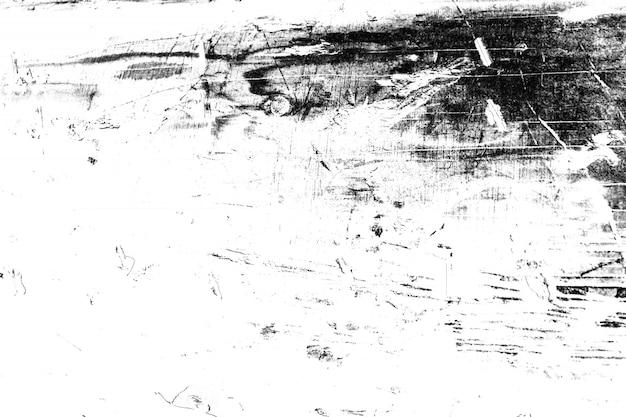 Черно-белая гранжевая текстура древесины
