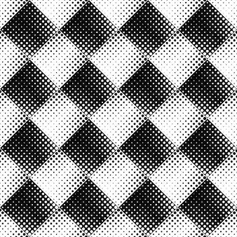 黒と白のシームレスな抽象的なサークルパターン背景