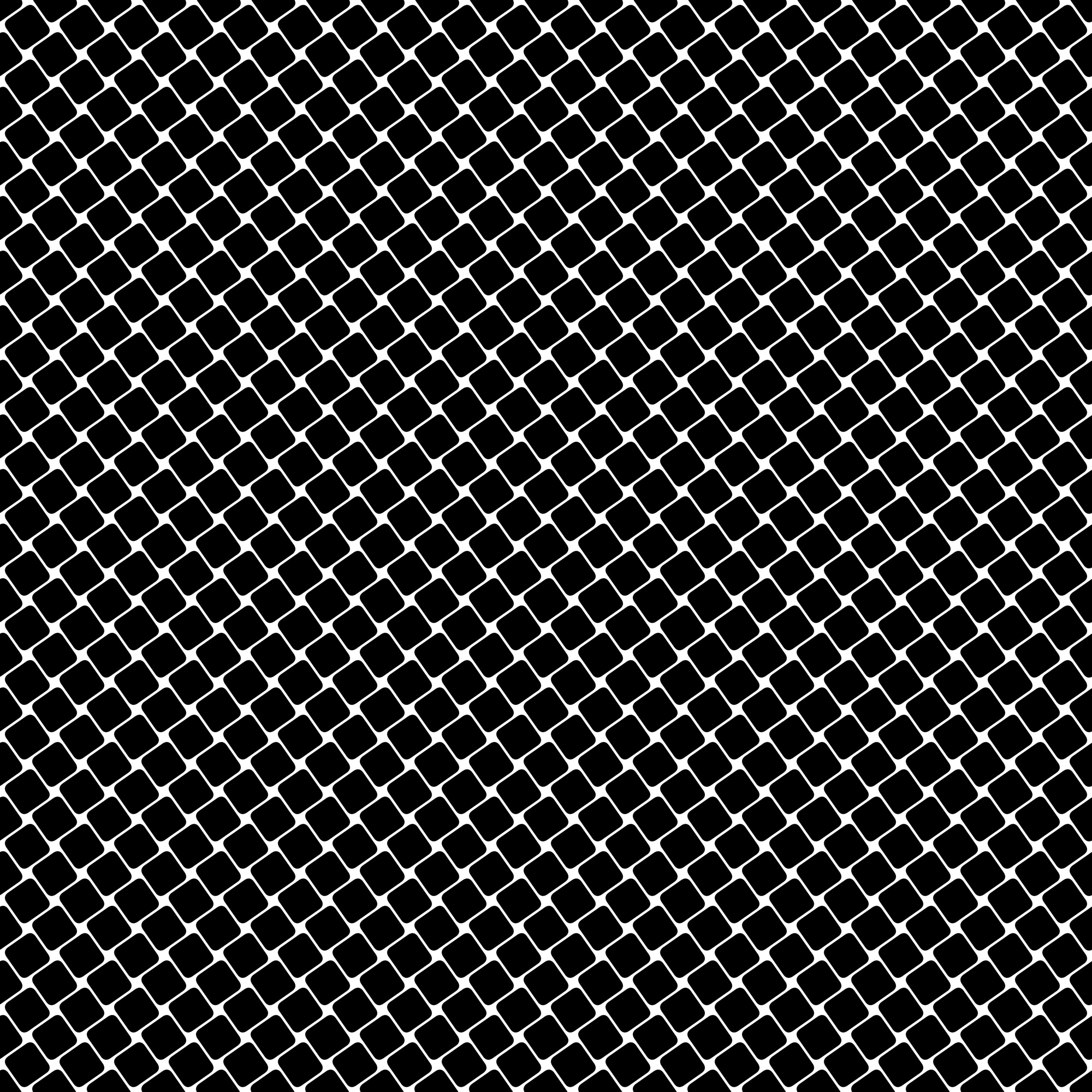 Black and white square pattern - geometrical vector background