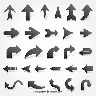 Black arrows collection