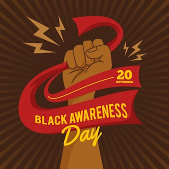 Black awareness day design