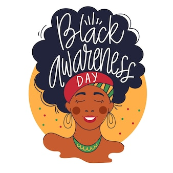 Black awareness day - lettering