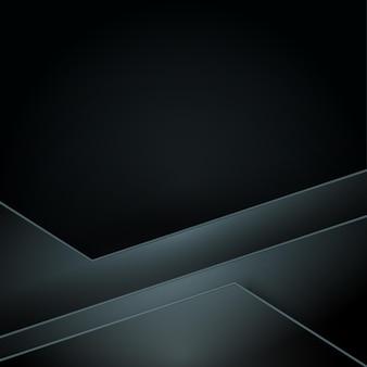 Черный фон. темный фон с геометрическими фигурами