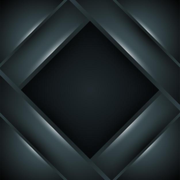 Черный фон. темный квадратный фон