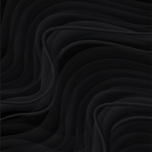 Черный фон. темный фон волны