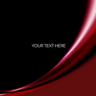 Black background with garnet wave
