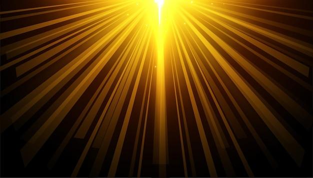 빛나는 조명 효과와 검은 배경