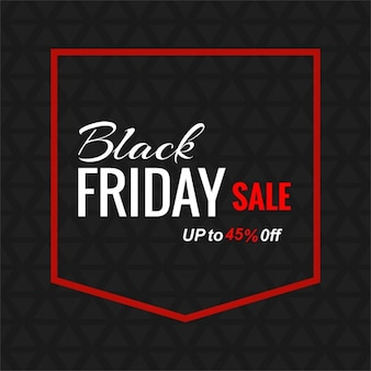 Black background with a pocket for black friday