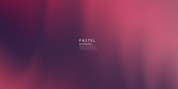 On a black background with red gradient smog abstract dark purple pastel is painted.