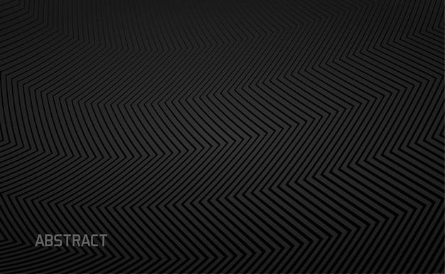 Black background with zigzag textured