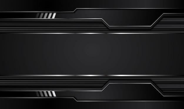 Black background.