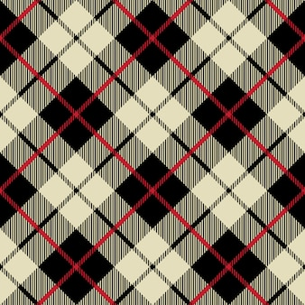 Black and beige fabric texture diagonal little pattern seamless