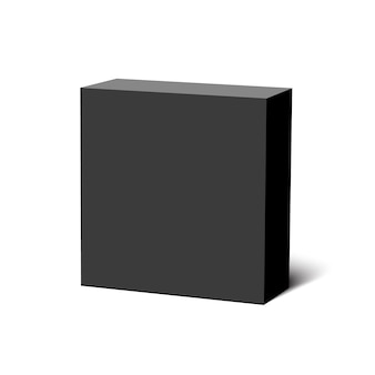 Black box. package.  .
