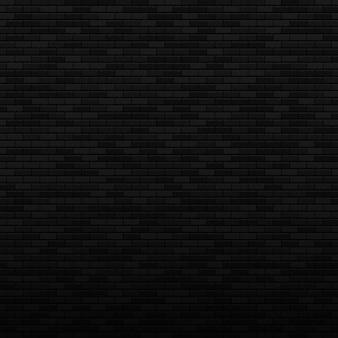 Черный кирпич бесшовные модели ночная кирпичная стена бесшовный фон элемент дизайна