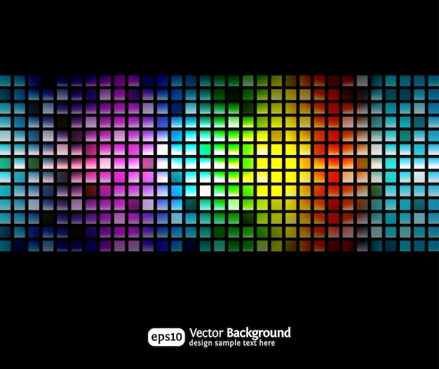 Black business abstract background with color gradients. modern  .
