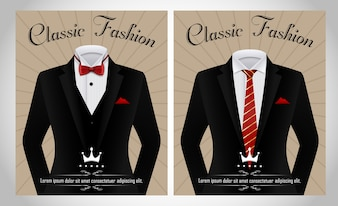 Tuxedo vectors photos and psd files free download black business suit template maxwellsz
