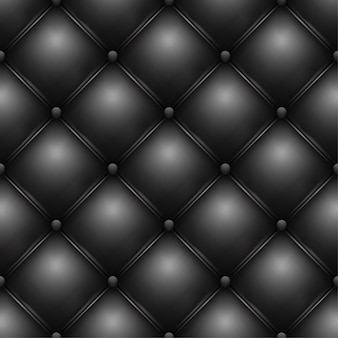 Black buttoned leather upholstery pattern texture