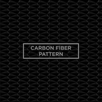 Black carbon fiber pattern