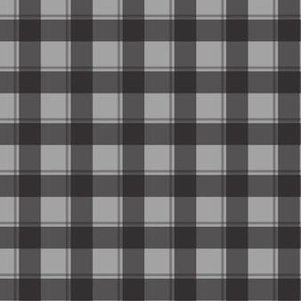 Black check seamless pattern background