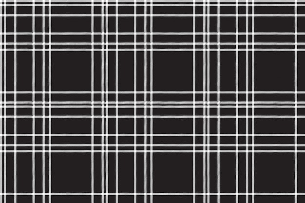 Black check seamless pattern