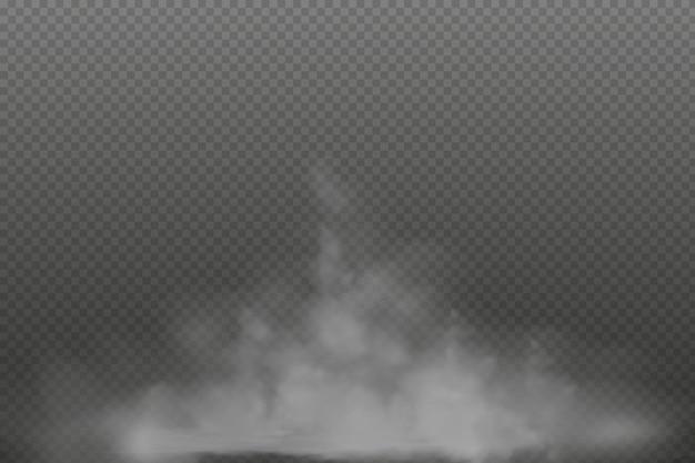 Черная облачность, туман или дым