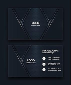 Black-creative-and-clean-corporate-business-card-templates