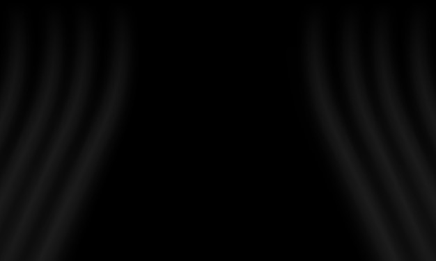 Black curtain background. best smart design for your business.
