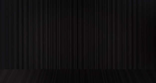 Black curtain with stage background