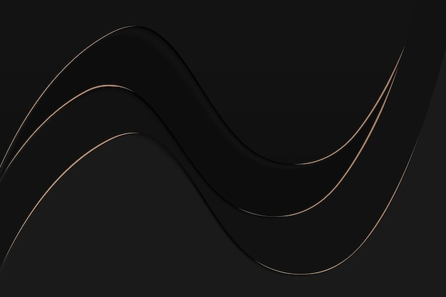 Sfondo del desktop nero, vettore di design della carta da parati moderna