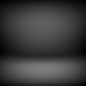 Black empty studio background