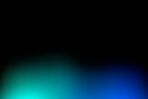 Черный выцветший градиент фона вектор с синей рамкой