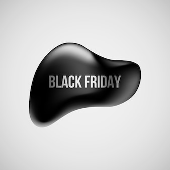 Black friday abstract banner.