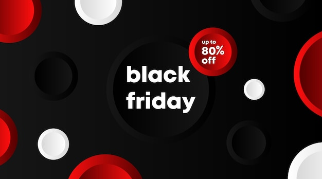 Black friday banner and background template . flyer template for black friday.
