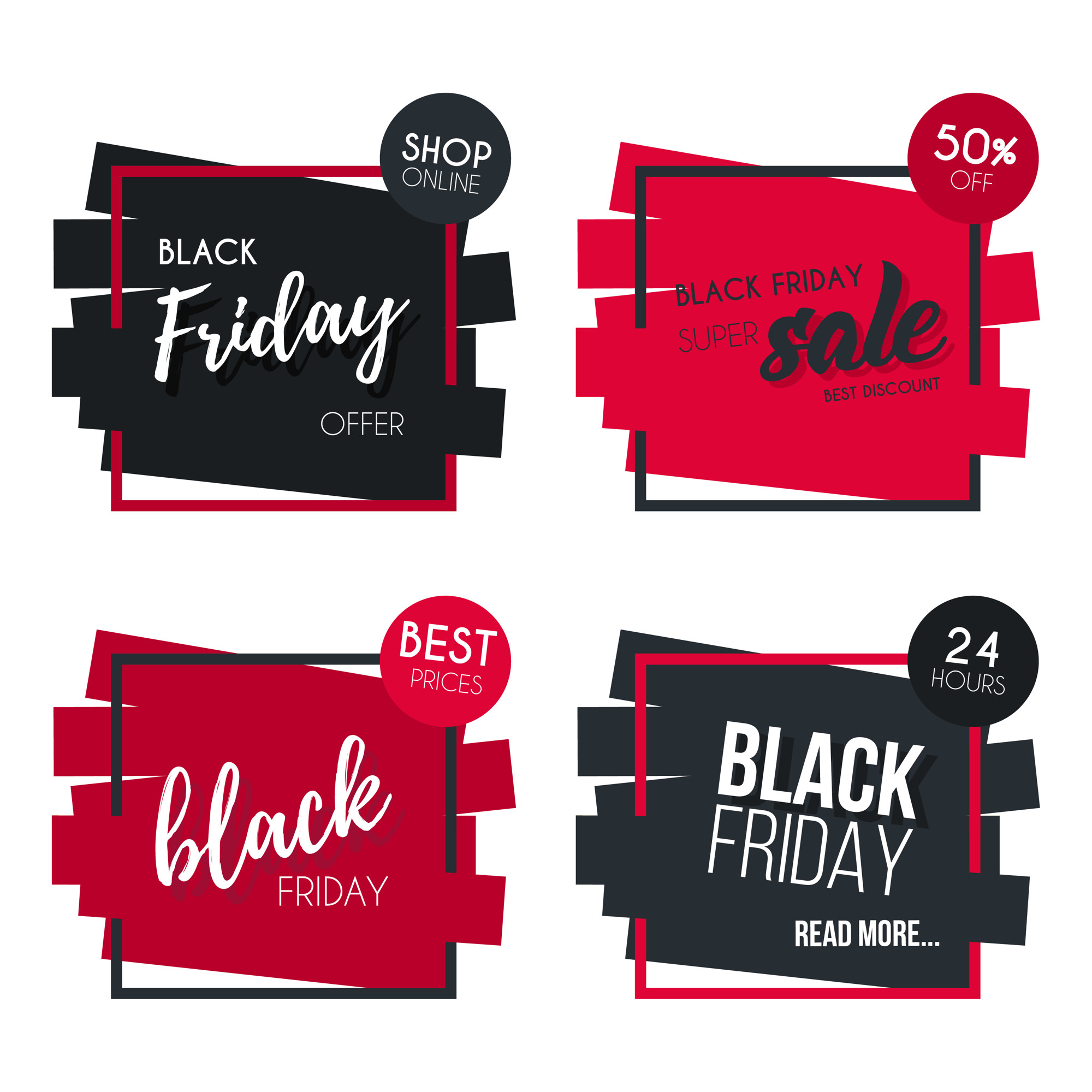 Black Friday Banner Collection