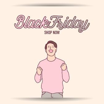 Черная пятница баннер супер распродажа дисконтный магазин дома сейчас