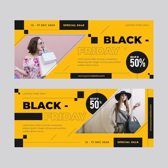 Black friday banner theme