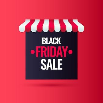 ブラックフライデー。大きな売上。あなたの商品を宣伝するトレンディでモダンなポスター。図。