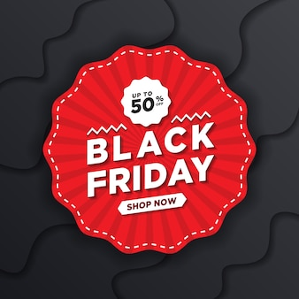 Black friday concept design template