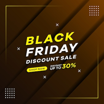 Black friday  concept with gradient background