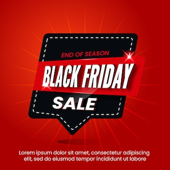 Black friday design template